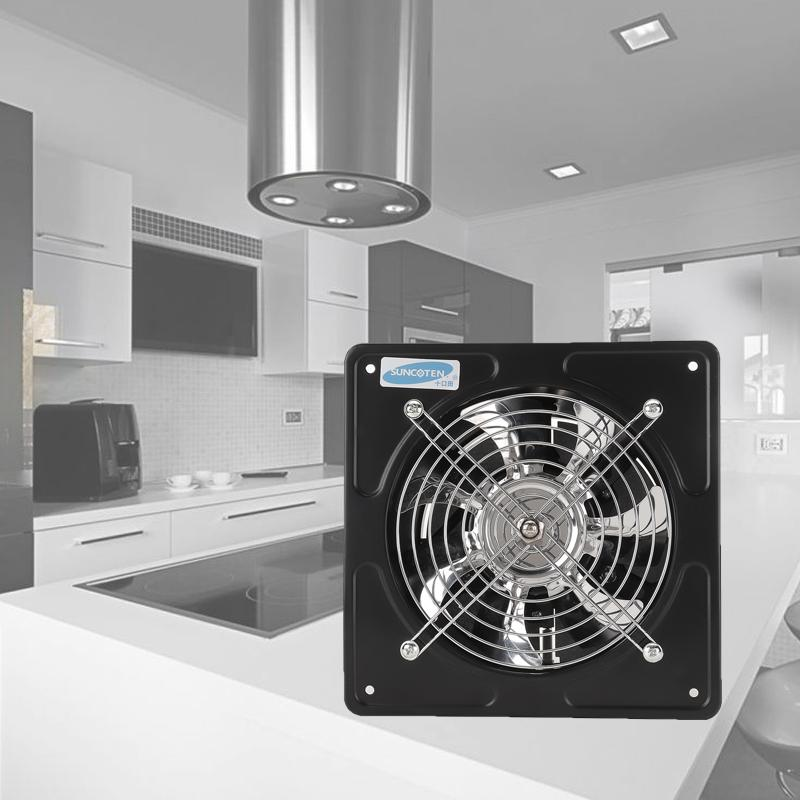 40w 6 inch exhaust fan for cooling kitchen bathroom window ceiling wall mount ventilation