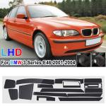 18 Pcs Car Glossy Matte Carbon Fiber Decal Interior Trim Decal Trim Interior For Bmw 3 Series E46 2001 04 Buy At A Low Prices On Joom E Commerce Platform