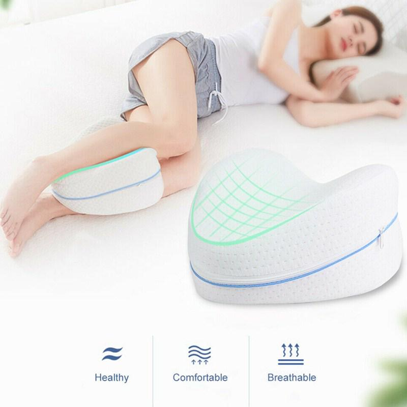 bb memory cotton leg pillow sciatica back hip joint sleeping orthopedic pain relief thigh cushion