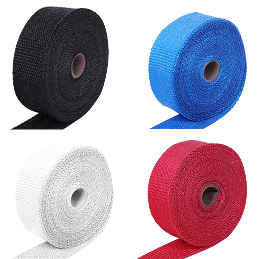 5m car heat shield turbo exhaust heat tape wrap pipe manifold header insulation cloth roll