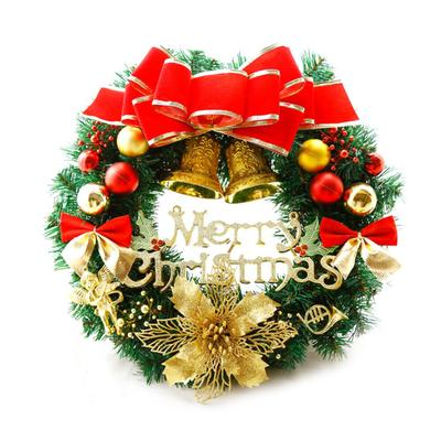 Christmas Garlands Decorations Small Bell Pendant Bow Decor Ornament Door Wreath Wall Hanging Buy At A Low Prices On Joom E Commerce Platform