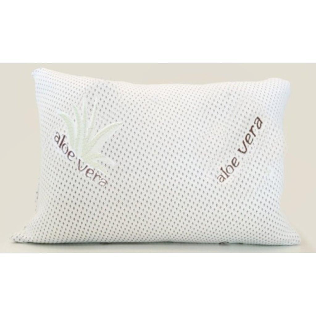 orthopedic visco pillow with aloe vera fabric
