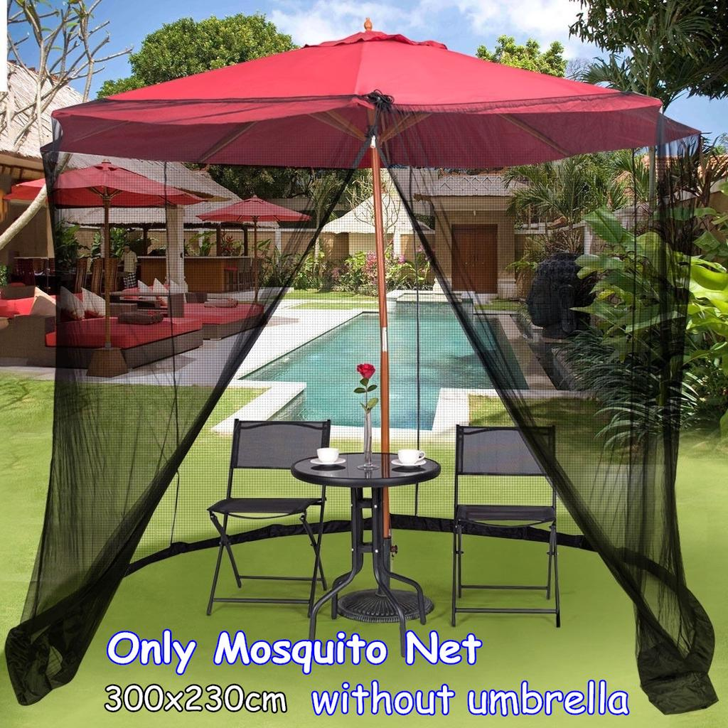 umbrella table screen cover mosquito bug insect net outdoor patio netting fit for patio umbrella buy at a low prices on joom e commerce platform