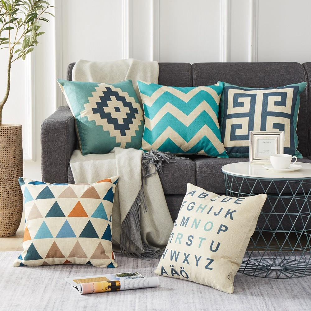 geometric cushion cover decorative throw pillows chair sofa pillow cover cushion cushions home decor