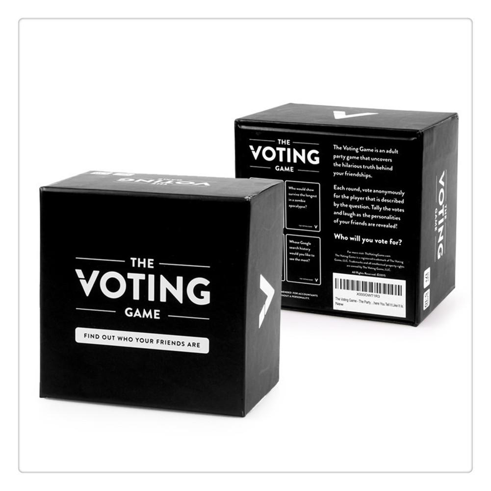The Voting Game The Adult Party Game With Your Friends Cards For Playing Board Games Buy At A Low Prices On Joom E Commerce Platform