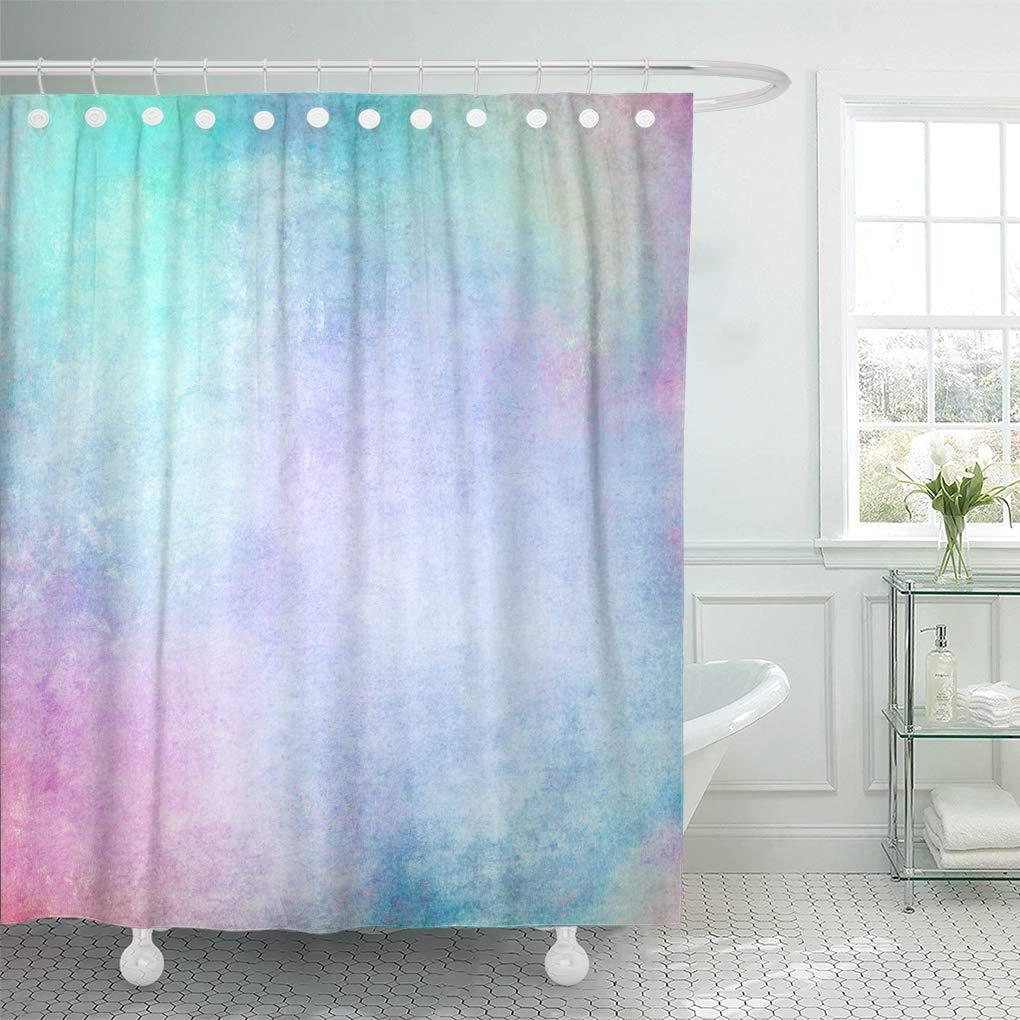 purple pastel colorful background abstract blue pattern green grunge pink shower curtain 60x72inch 150x180cm
