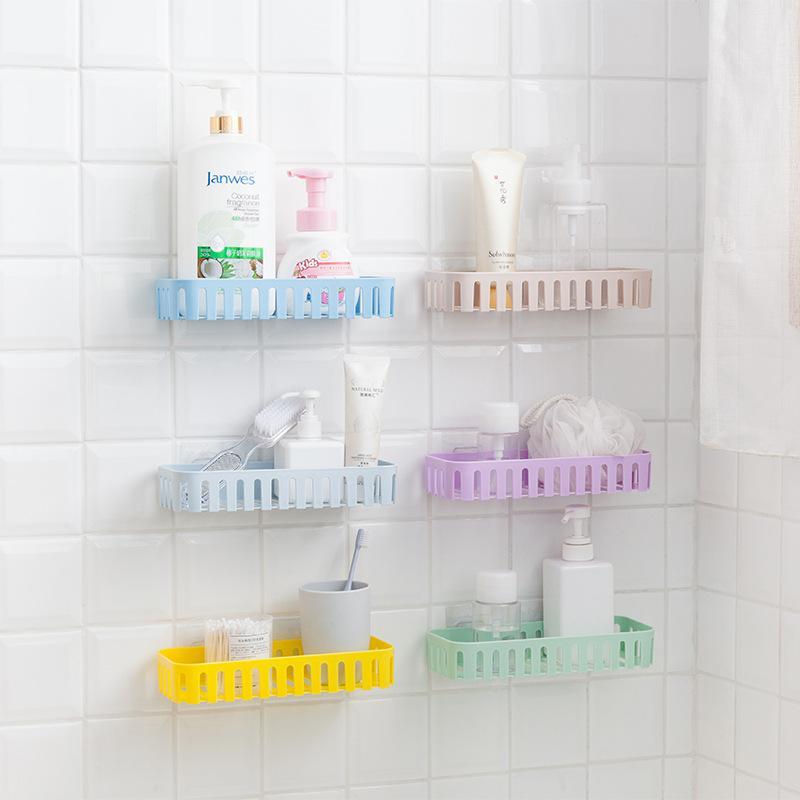 viscose suction wall bathroom rack storage rack bathroom basket kitchen rack buy at a low prices on joom e commerce platform