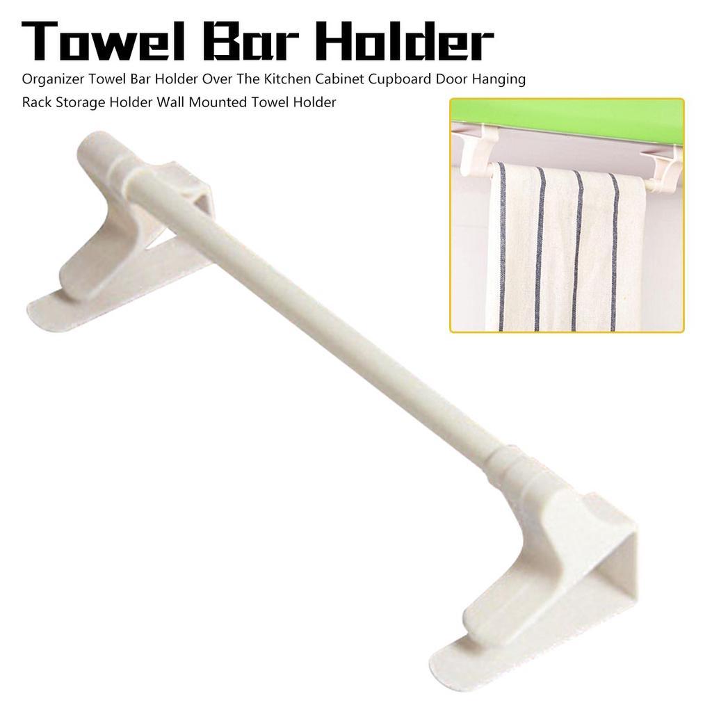 over door towel rack bar hanging holder