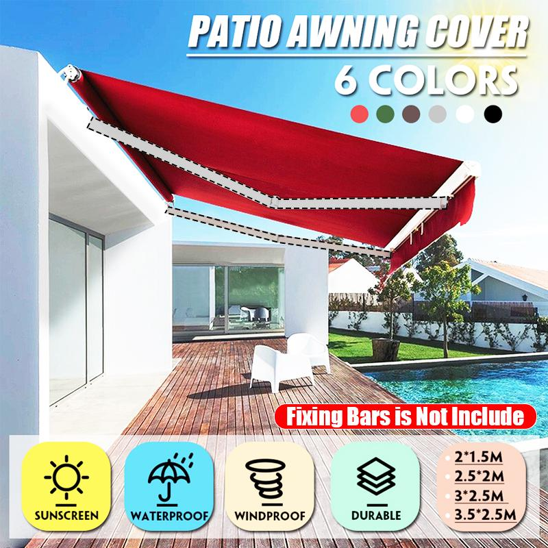 awning cover canopy sun shade shelter replacement fabric waterproof anti uv outdoor garden patio buy at a low prices on joom e commerce platform