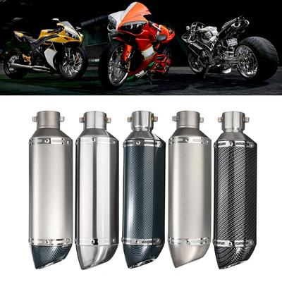 dual outlet two hole motorcycle exhaust
