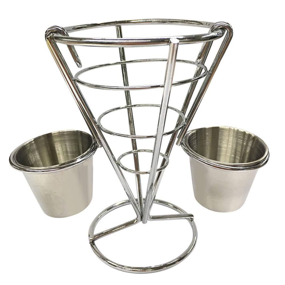 two cups chip stand holder snacks french fry fries display rack buy at a low prices on joom e commerce platform