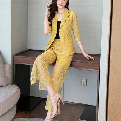 Women Casual Office Business Formal Work Slim Wear Sets Uniform Styles Pant Suits Buy At A Low Prices On Joom E Commerce Platform