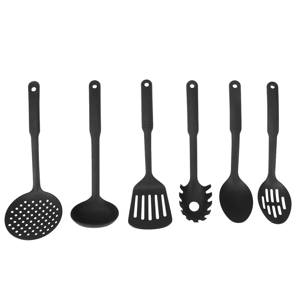 Having the right kitchen utensils for the different jobs makes life a lot easier. 6pcs Kitchen Tool Set Non Stick Kitchen Utensils Spoon Cooking Tools Kitchenware Set For Home Hotel Buy At A Low Prices On Joom E Commerce Platform