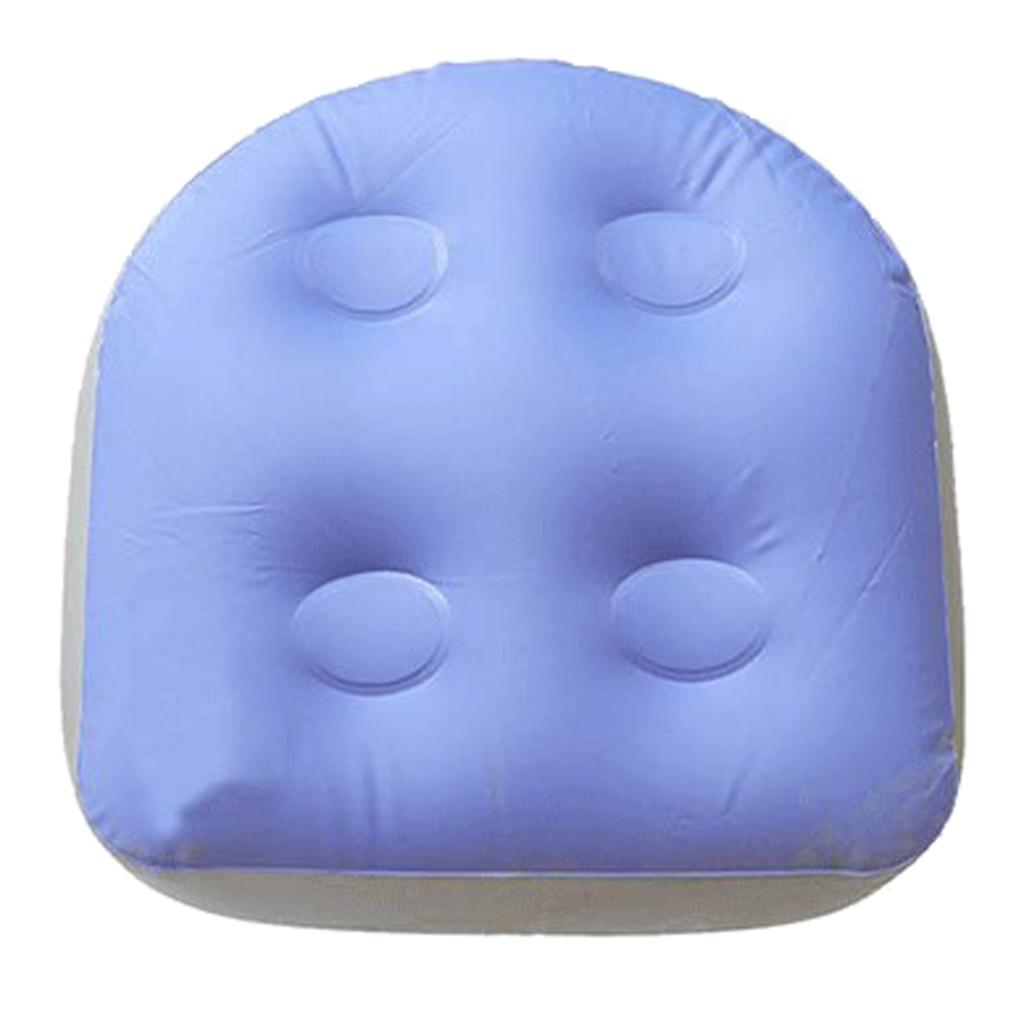 tub booster seat submersible weighted jacuzzi spa pillow washable cushion cover with suction cup