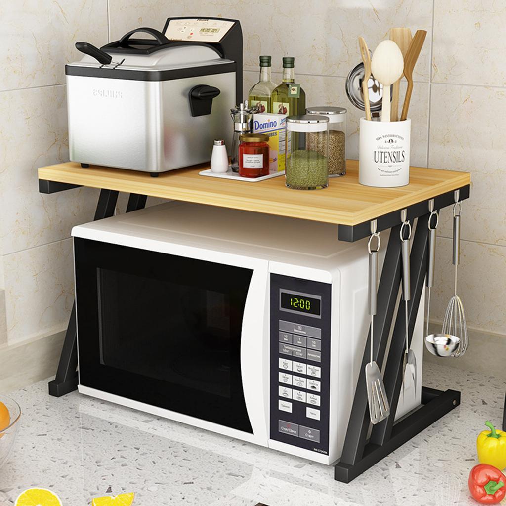 microwave oven rack kitchen baker rack microwave oven stand holder storage workstation shelf buy at a low prices on joom e commerce platform