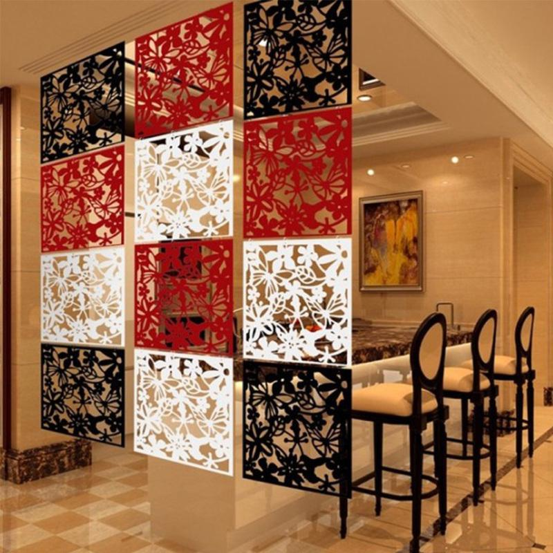 hollow hanging screen modern butterfly flower curtain room divider partition home decor buy at a low prices on joom e commerce platform