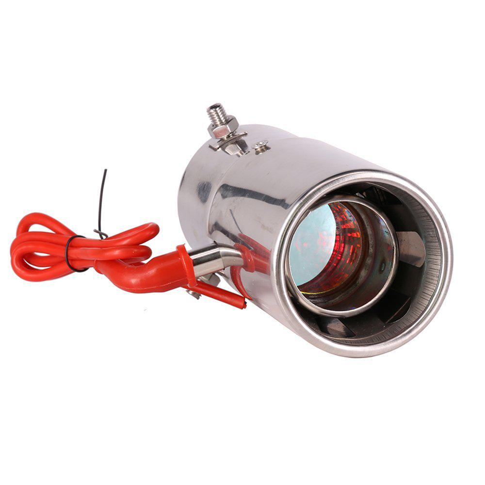 exhaust pipe muffler spitfire led red light flaming universal car tail tip 30 to 63mm buy at a low prices on joom e commerce platform