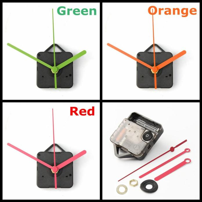 Buy 3 Colour Hands Quartz Wall Clock Movement Mechanism Diy Repair Parts Kit Silent Replacement Household Plastic At Affordable Prices Price 16 Usd Free Shipping Real Reviews With Photos Joom