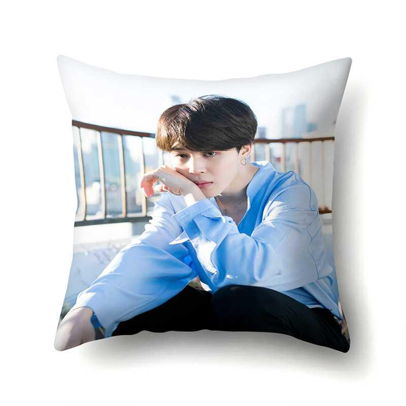 modern home decor pillow case korean idol group bts cushion cover 45 45cm buy at a low prices on joom e commerce platform