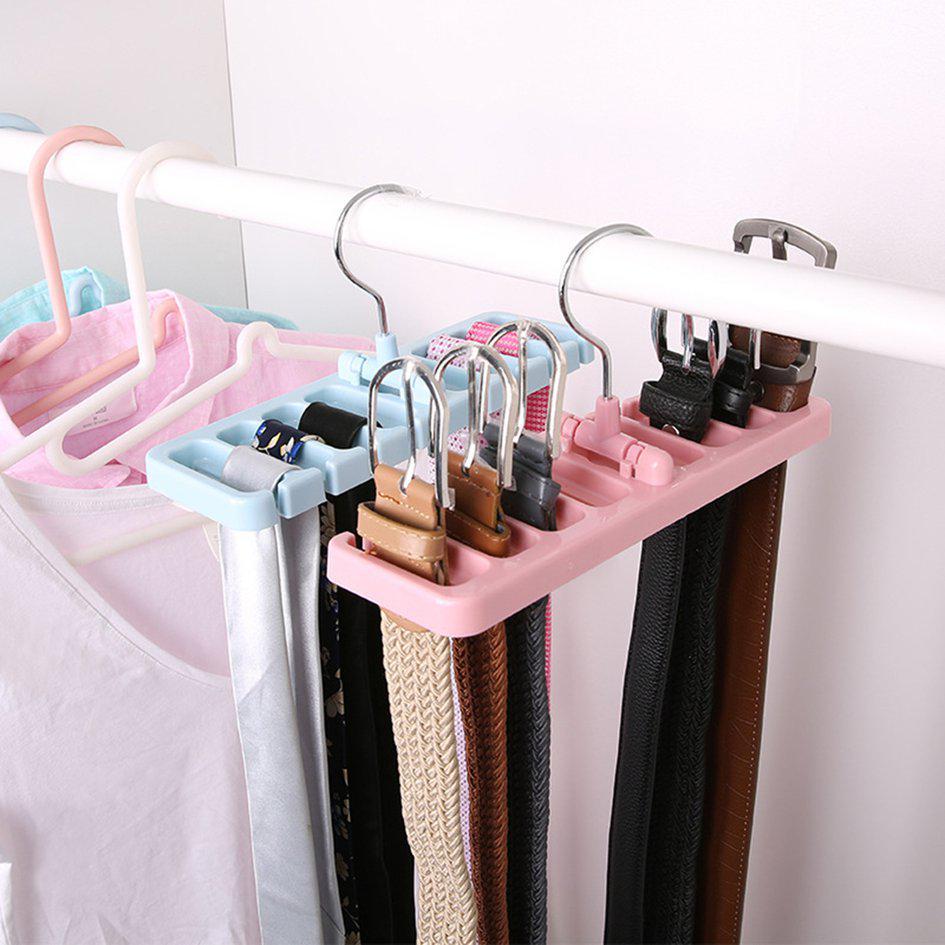 mint multifunctional pants rack closet organizer garment suit clothes hangers buy at a low prices on joom e commerce platform