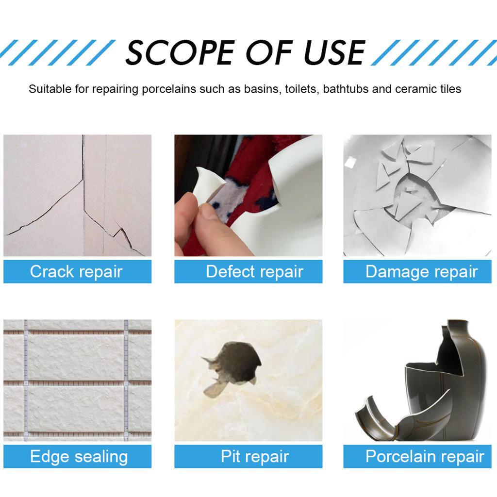 tub tile and shower repair kit porcelain repair kit for crack chip ceramic floor