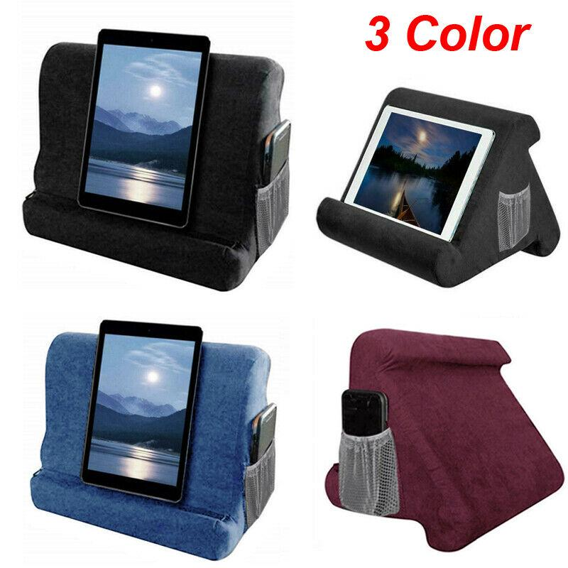 foldable pillow stand lightweight tablet read holder stand foam lap rest cushion for ipad book phone