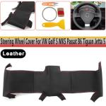 Black Leather Steering Wheel Cover Fit Vw Golf 5 Mk5 Passat B6 Tiguan Jetta 5 Buy At A Low Prices On Joom E Commerce Platform