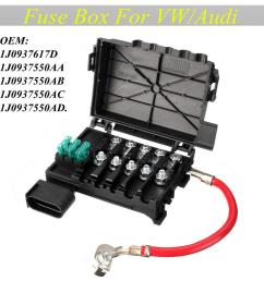 fuse box battery terminal connector for vw beetle bora golf jetta  [ 1024 x 1024 Pixel ]
