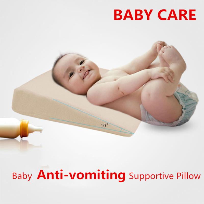 wedge bed pillow elevated supportive cushion for baby slant acid reflux anti vomiting supplies buy at a low prices on joom e commerce platform