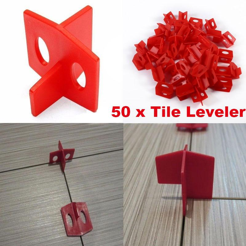 50pcs tile leveling system 3 side spacer cross and t shape ceramic floor wall tools buy at a low prices on joom e commerce platform