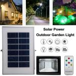30 Led Solar Power Flood Light Remote Control Outdoor Garden Lawn Lighting Lamp Buy At A Low Prices On Joom E Commerce Platform