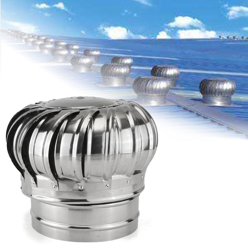 6 7 8 stainless steel roof ventilator wind turbine air vent exhaust fan rotary buy at a low prices on joom e commerce platform