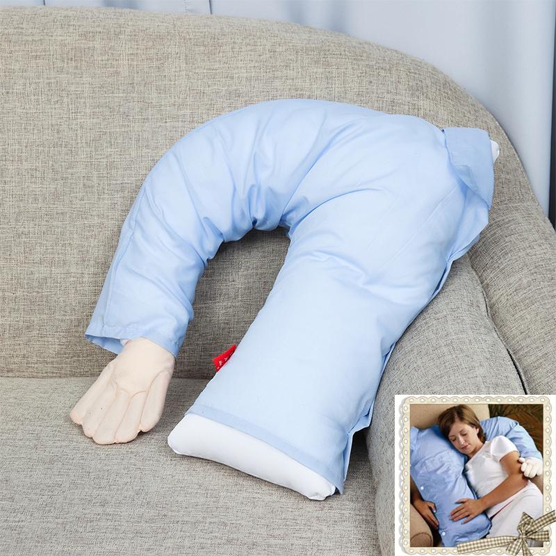 cute boyfriend arm body u shape bed cushion girl pillow arm single person shape creative pillow buy at a low prices on joom e commerce platform