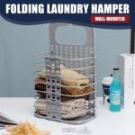 Hanging Laundry Basket Clothes Storage Folding Basket Wall Hanging Storage Organizer Buy At A Low Prices On Joom E Commerce Platform