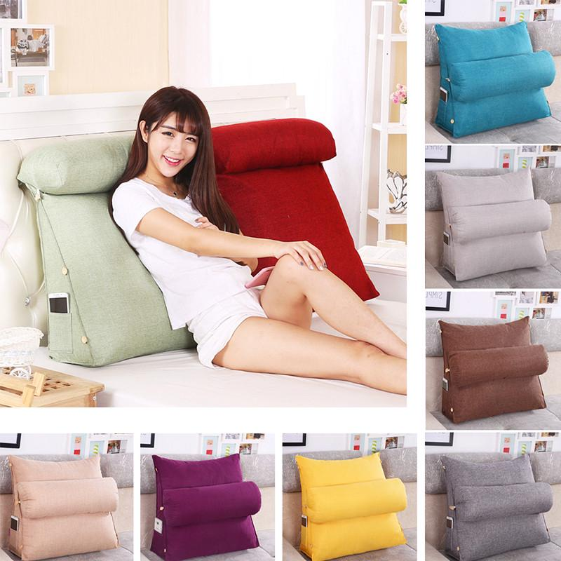 lounger bed rest back pillow support tv reading back rest seat soft sofa office chair living room c buy at a low prices on joom e commerce platform