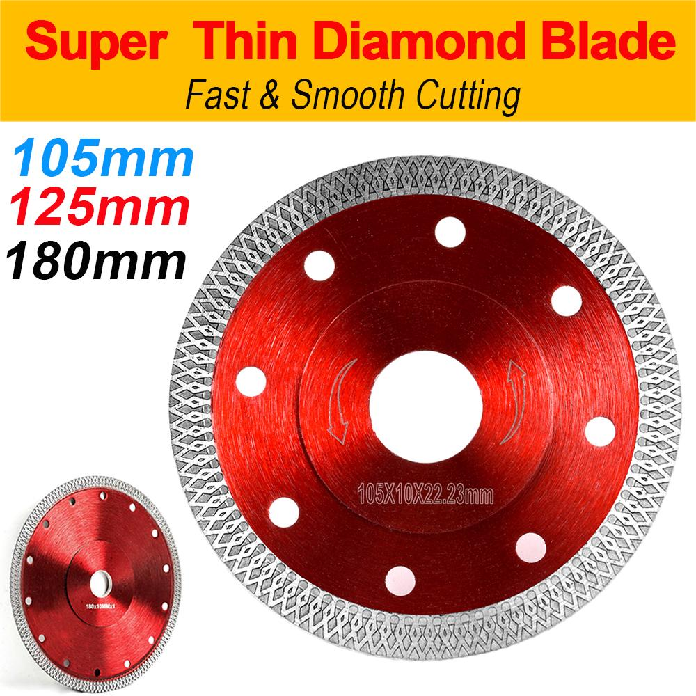 thin turbo dry diamond angle grinder cutting porcelain tile porcelain disc blade
