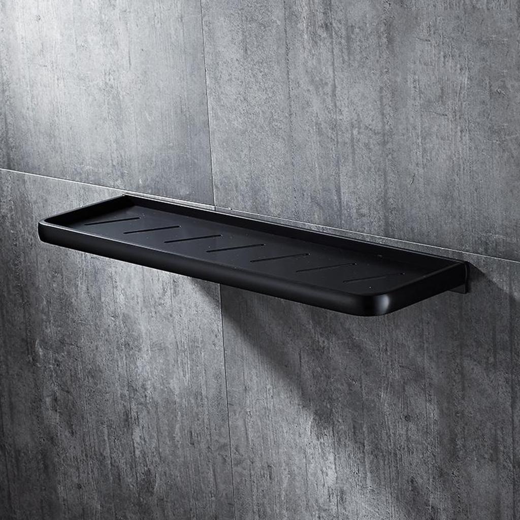 modern black wall mounted bathroom shower caddy shelf storage spac aluminium rack buy at a low prices on joom e commerce platform