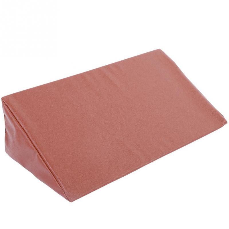 bed wedge pillow leg elevation back lumbar support cushions waterproof pu leather cover buy at a low prices on joom e commerce platform