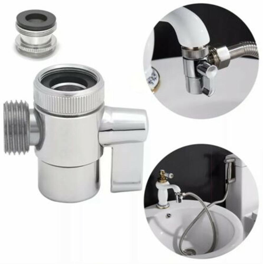 toilet bathroom brass sink valve diverter faucet splitter hose adapter m22 x m24