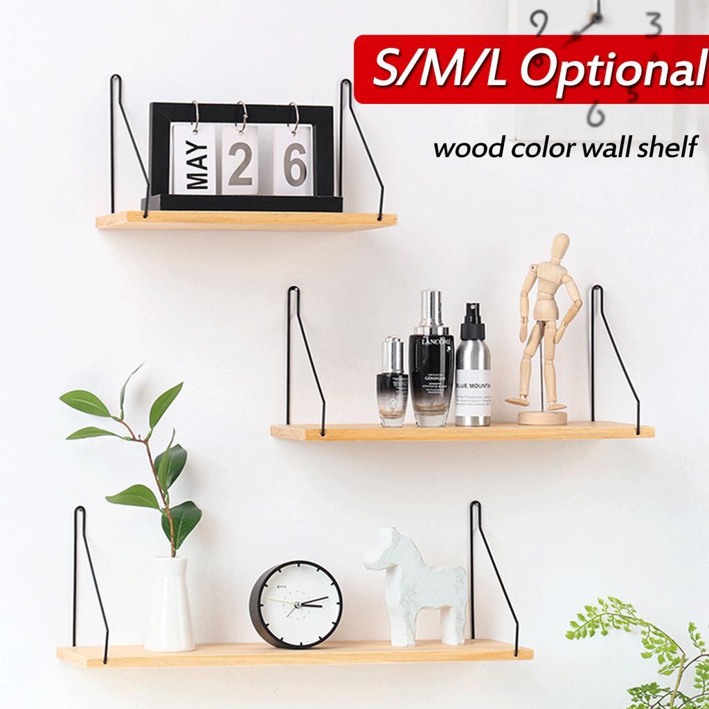 storage shelf rack decorative wall shelves hooks on the wall wood shelf kitchen organization cabinet