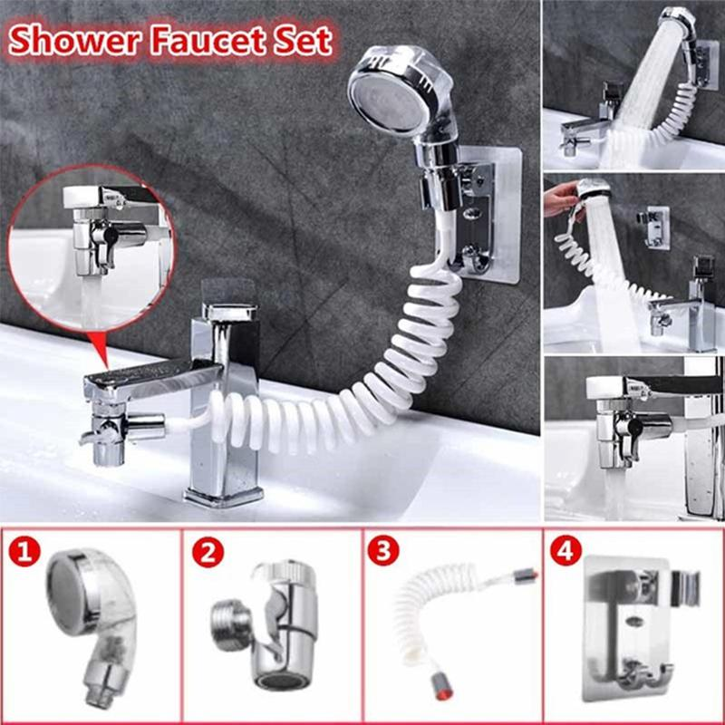 faucet external shower set hand washing toilet faucet filter flexible suit wash hair house kitchen sink water saving faucet
