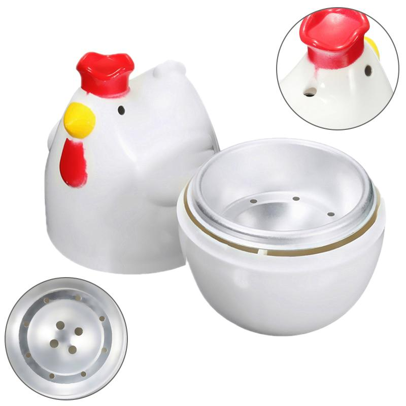 top chick shaped 1 boiled egg steamer steamer pestle microwave egg cooker cooking tools kitchen buy at a low prices on joom e commerce platform