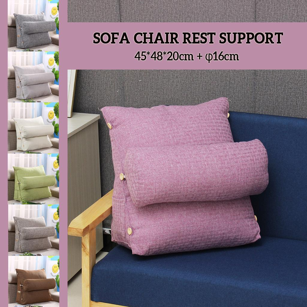 cotton sofa bed chair rest neck support wedge cushion adjustable back pillow buy at a low prices on joom e commerce platform