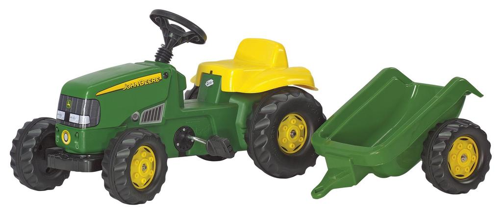 With john deere for kids our hope is that the videos, stories and activities offered here will not only entertain but inspire young minds to someday help transform, cultivate, enrich and harvest the land they're learning to love. Buy John Deere Pedal Tractor With Trailer For Children From 2 To 4 Years At Affordable Prices Free Shipping Real Reviews With Photos Joom
