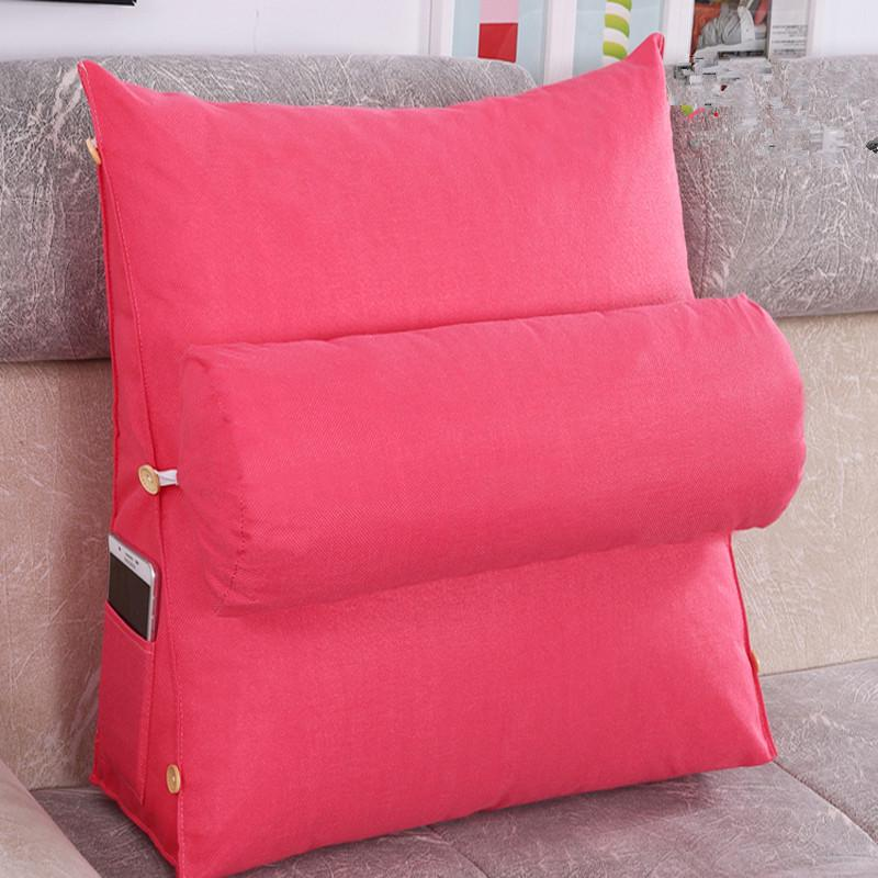 lounger bed rest back pillow support tv reading back rest seat soft sofa office chair living room c