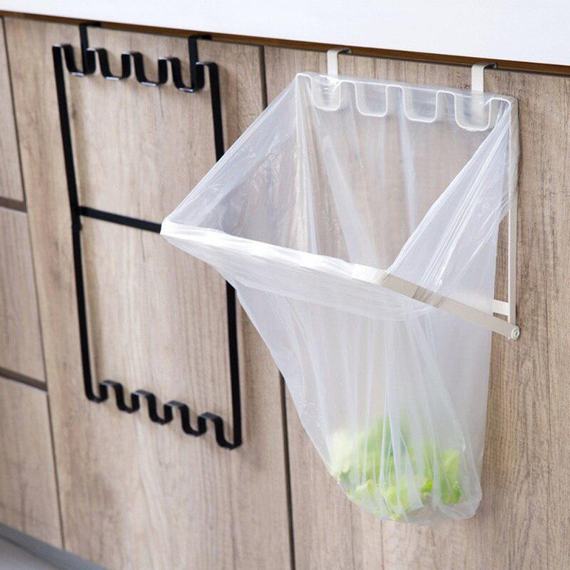 kitchen cupboard back trash bag rack cabinet door garbage bag holder buy at a low prices on joom e commerce platform
