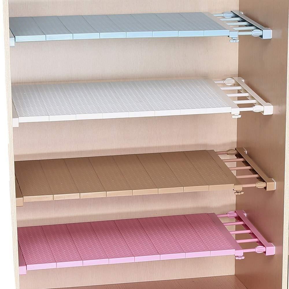 extendable closet shelf storage rack separator adjustable wardrobe cupboard divider diy organizer rod w35 buy at a low prices on joom e commerce