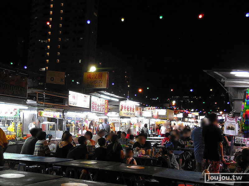 [遊記] 檳城-新關仔角夜市-馬來西亞Day4-4 - 啾啾姊姊