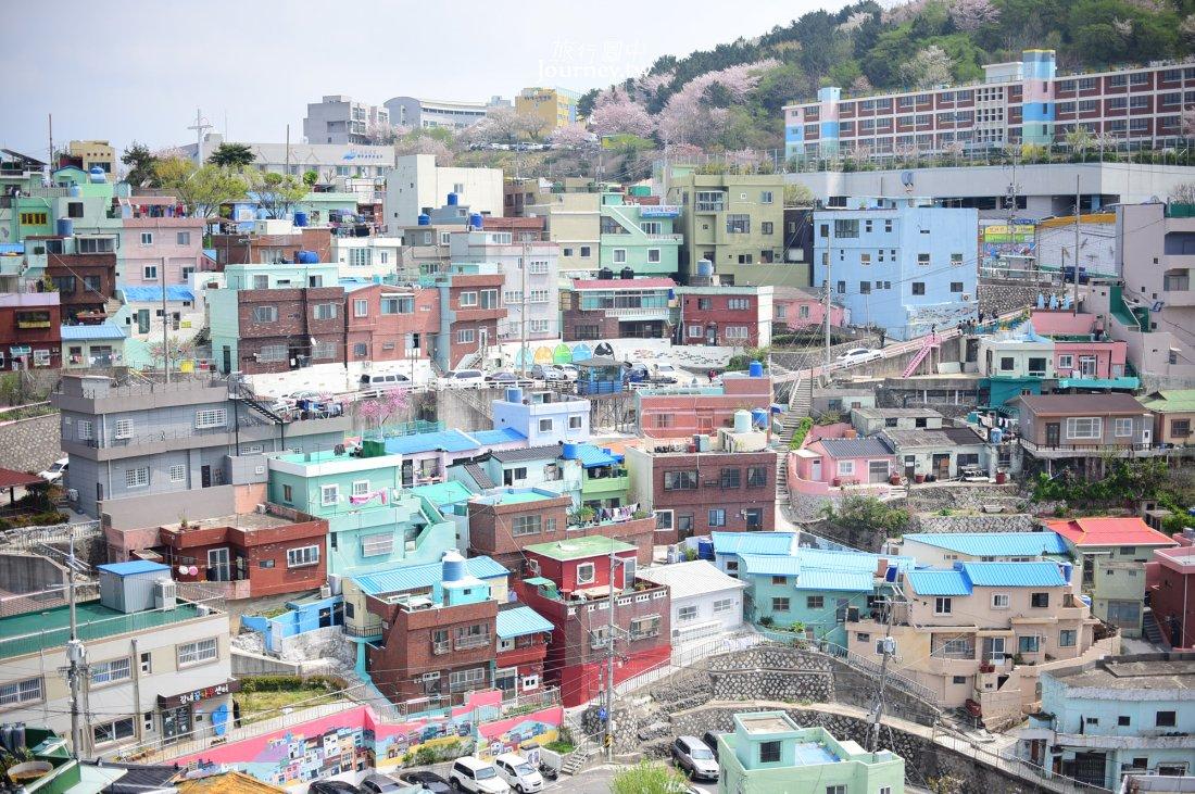 甘川洞文化村,韓國景點,釜山景點,韓國旅遊,壁畫村,釜山自由行,台灣虎航