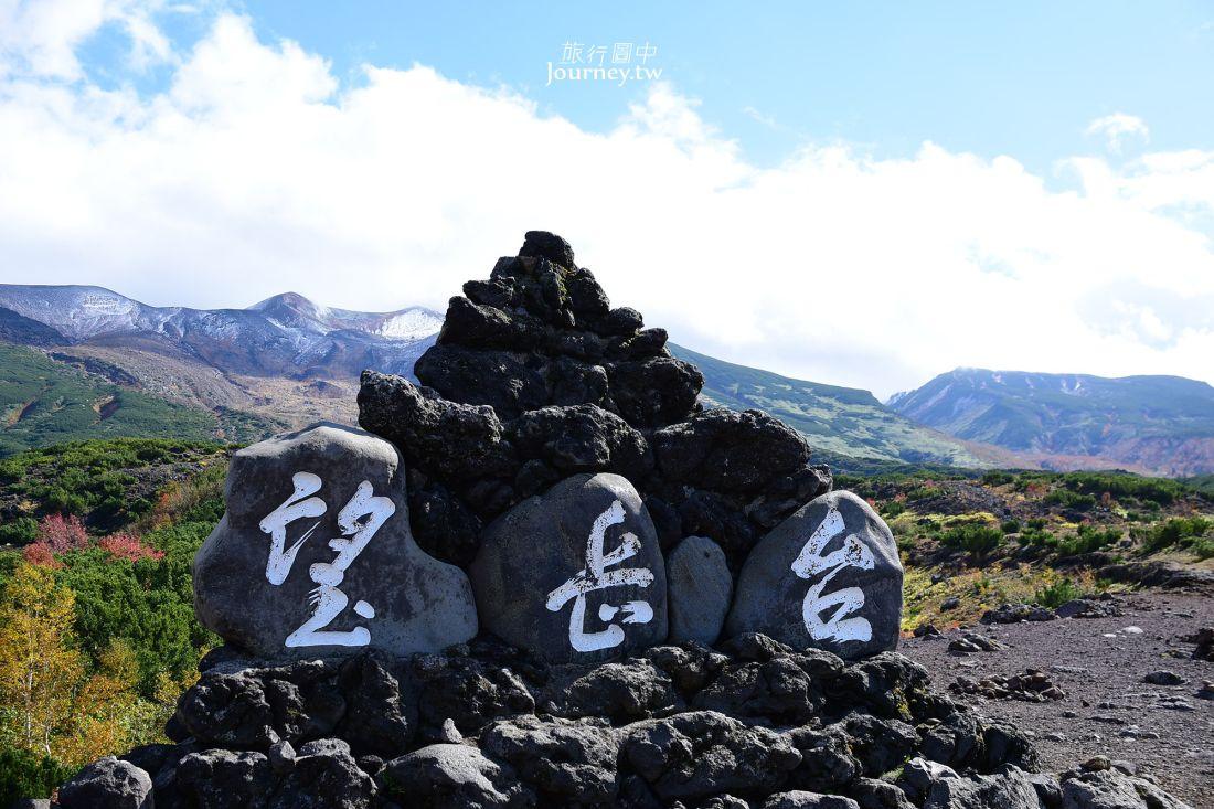 北海道景點,美瑛,十勝岳望岳台,日本百岳,十勝岳